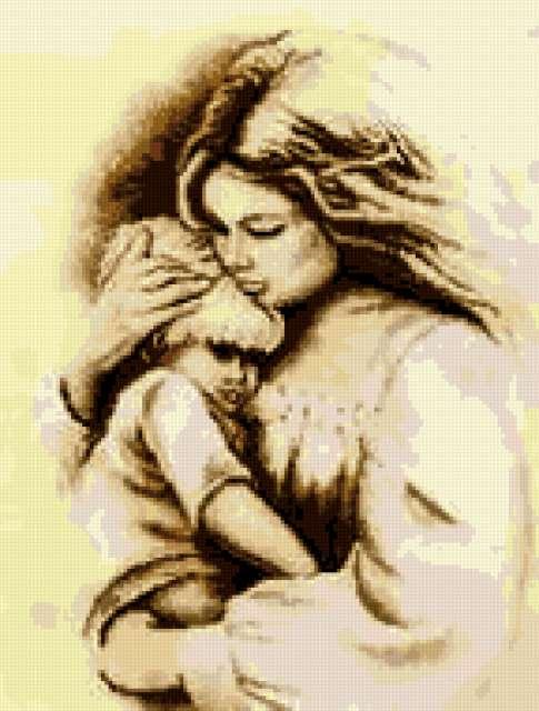 Все для вышивки в Твери - Каталог/Наборы для вышивания/Vervaco/Набор для вышивания Mother`s Love #75.752.