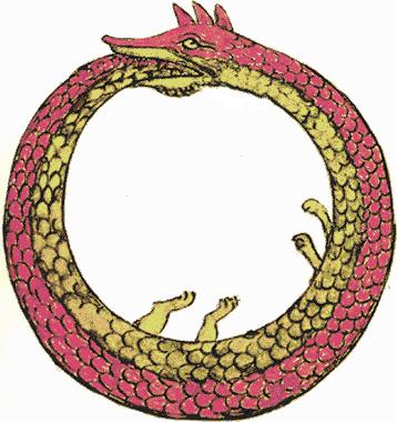 змея хвост