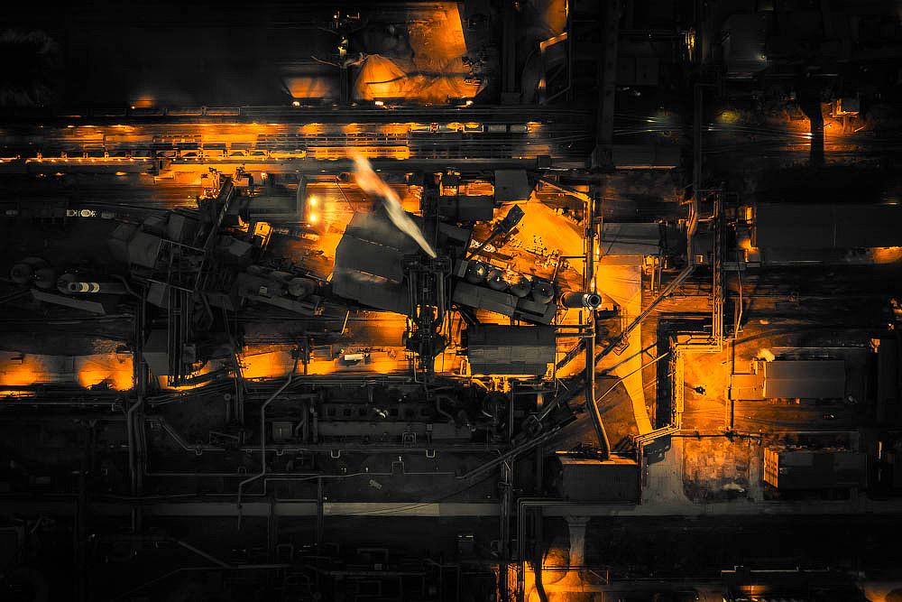 Челябинский металлургический комбинат. Нестандартный вид