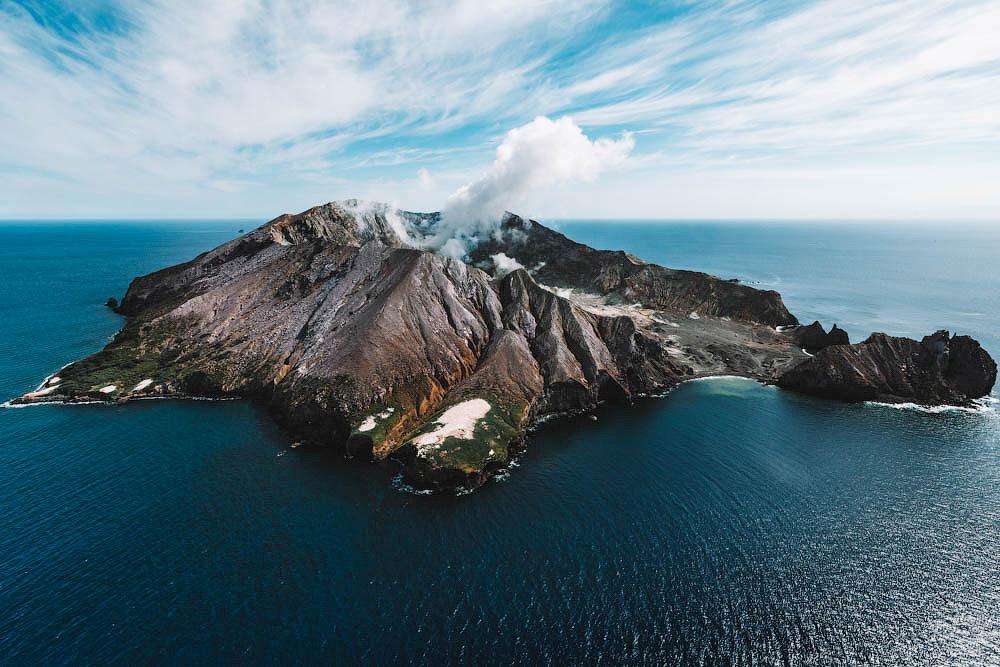 White Island — частный вулканический остров в Новой Зеландии
