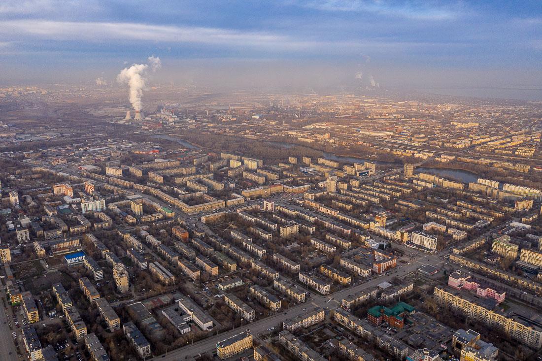 Выбросы над Челябинском