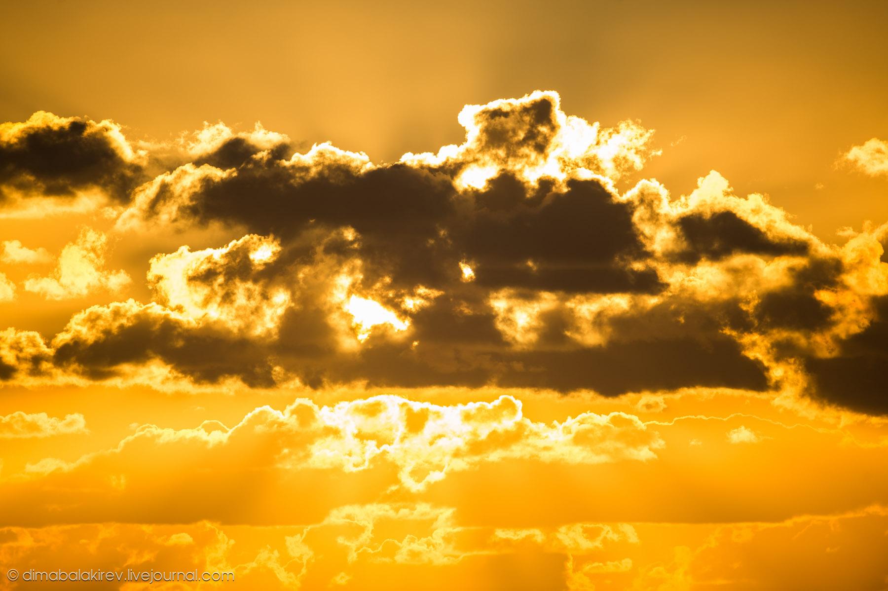 Уникальный закат