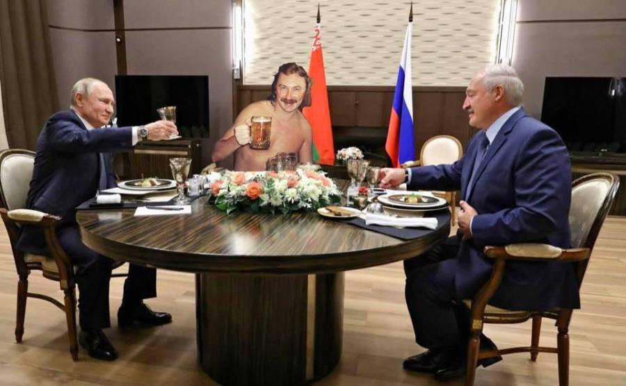 Путин, Лукашенко, полумрак Сочи,Россия,Путин,политика,мнение,Беларусь,Лукашенко