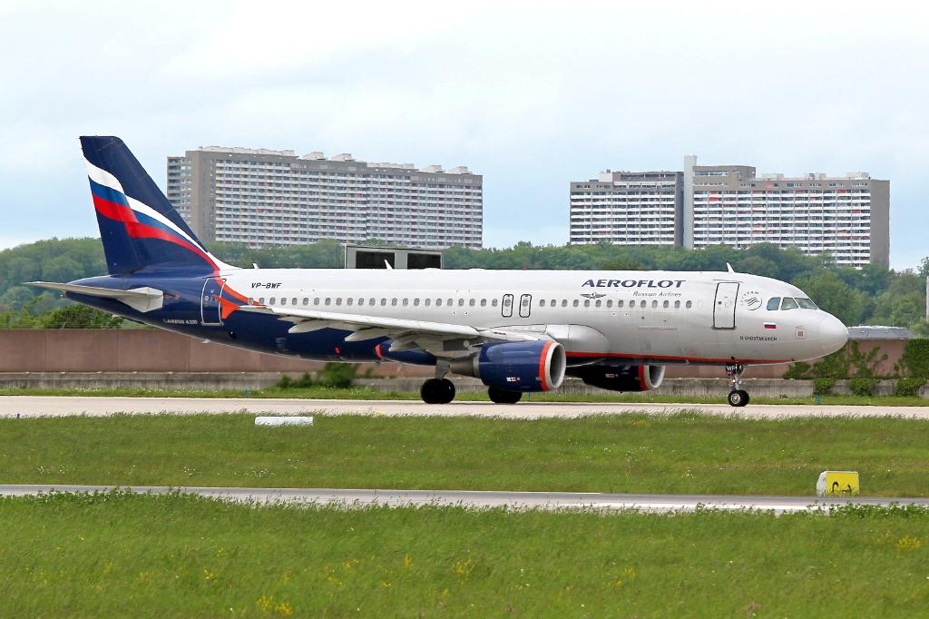 14 Aeroflot Airbus A320-214