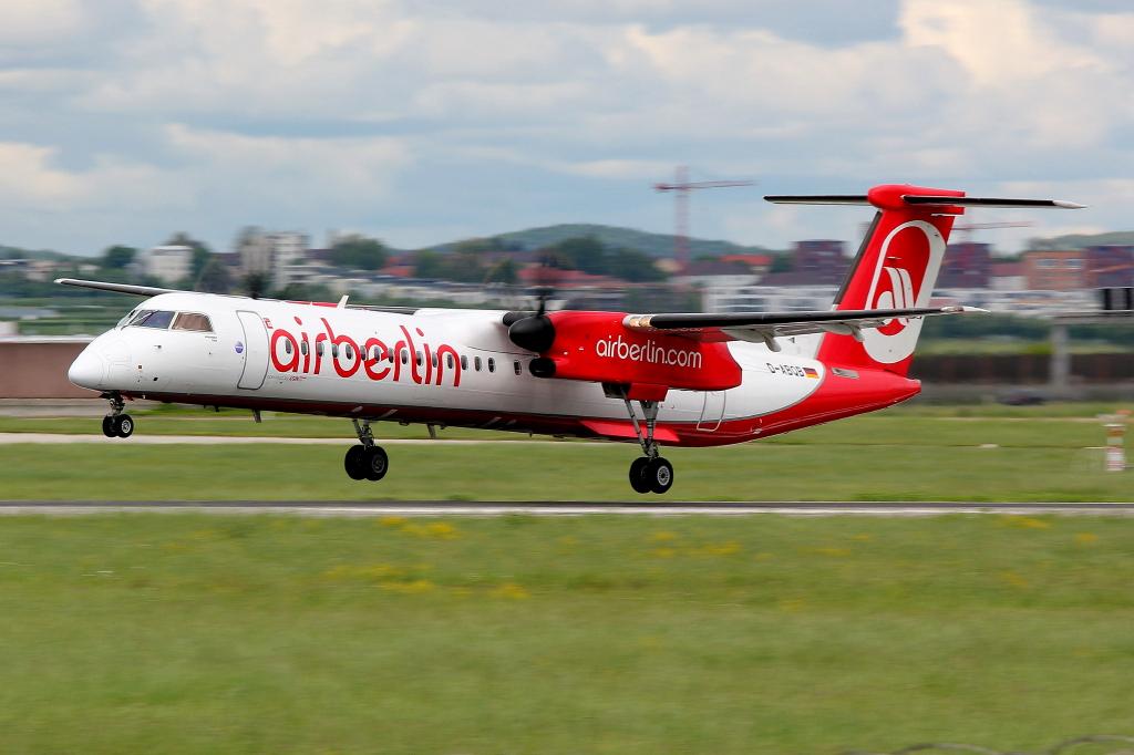 16 Air Berlin (LGW) De Havilland Canada DHC-8-402Q