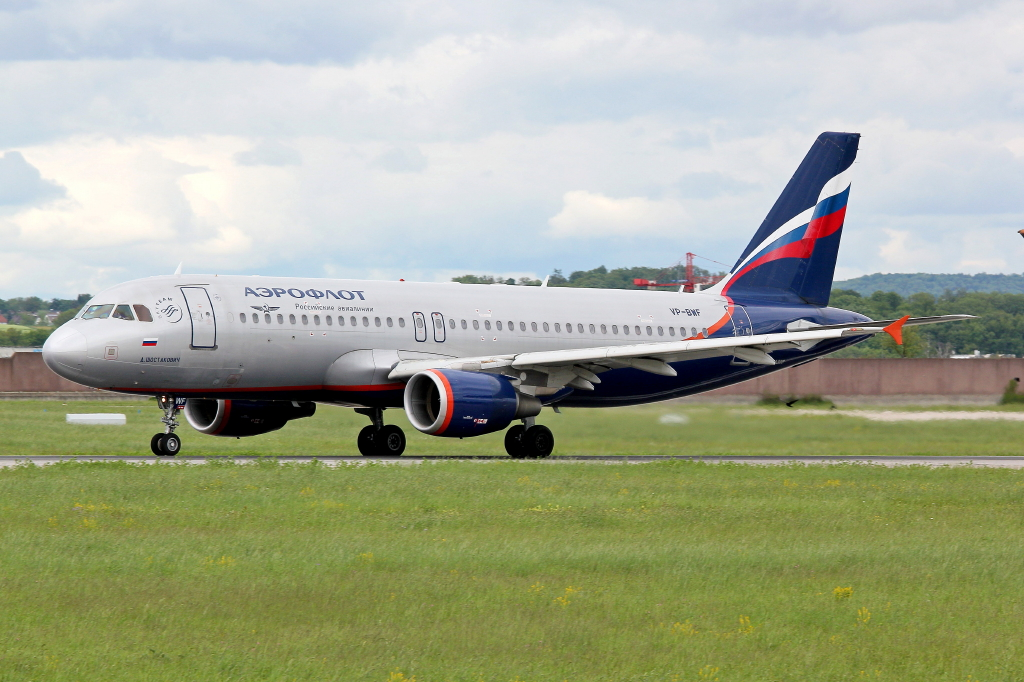 25 Aeroflot Airbus A320-214