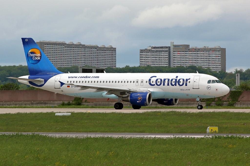 12 Condor Airbus A320-212  хор