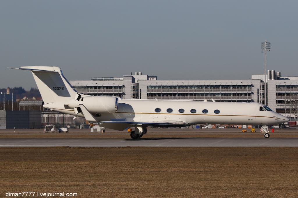 14 USAF  01-0076  Gulfstream C-37A