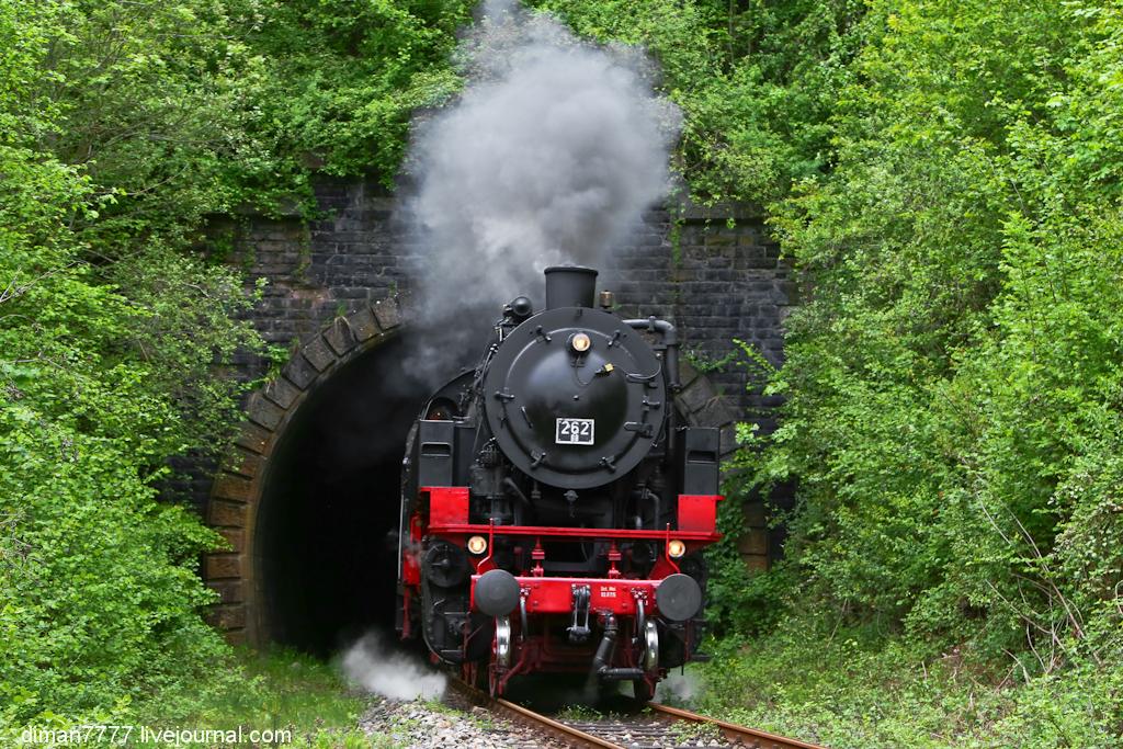 Историческая железная дорога Свинячий хвостик 01
