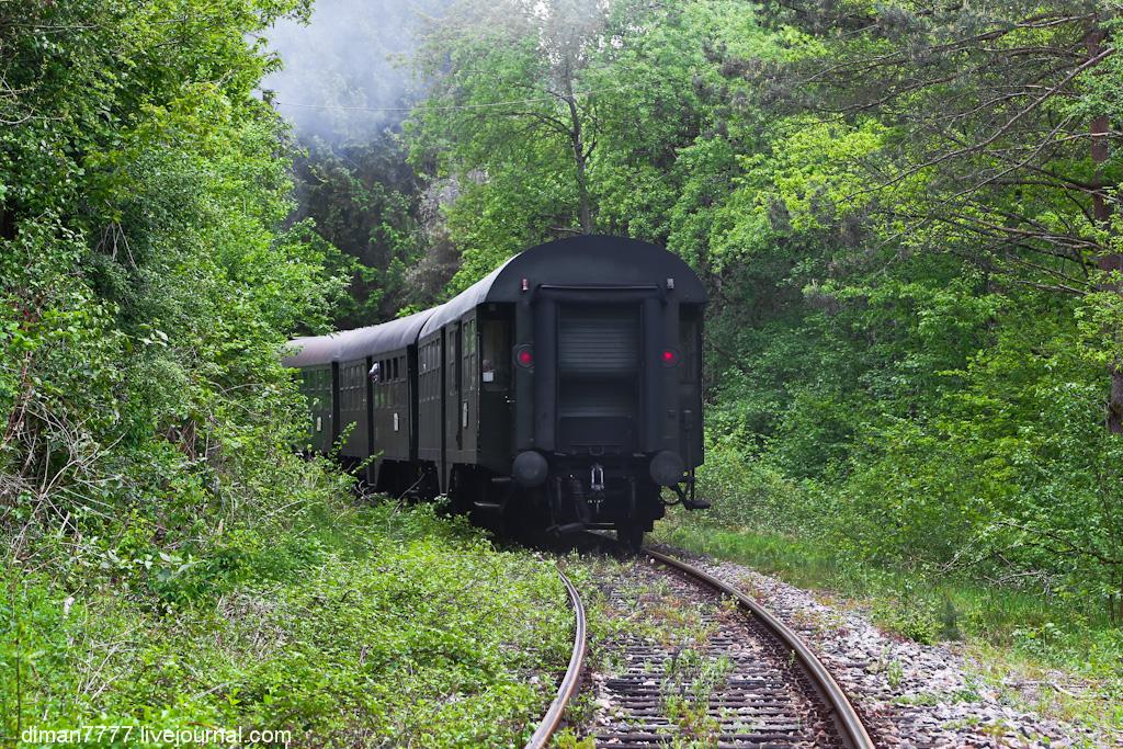 Историческая железная дорога Свинячий хвостик 02