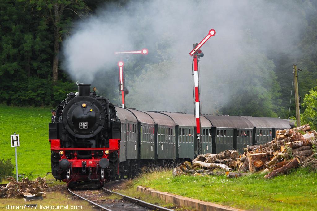 Историческая железная дорога Свинячий хвостик 03