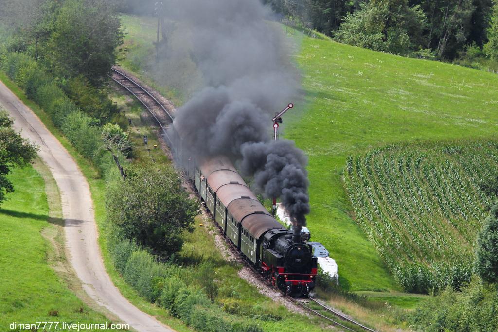 Историческая железная дорога Свинячий хвостик 04