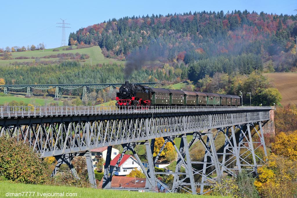 Историческая железная дорога Свинячий хвостик 05