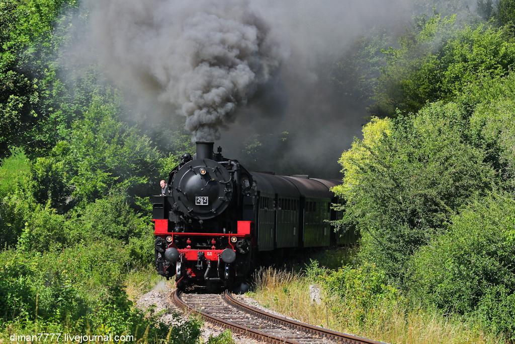 Историческая железная дорога Свинячий хвостик 06