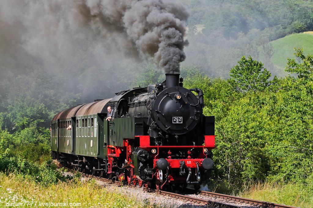 Историческая железная дорога Свинячий хвостик 07