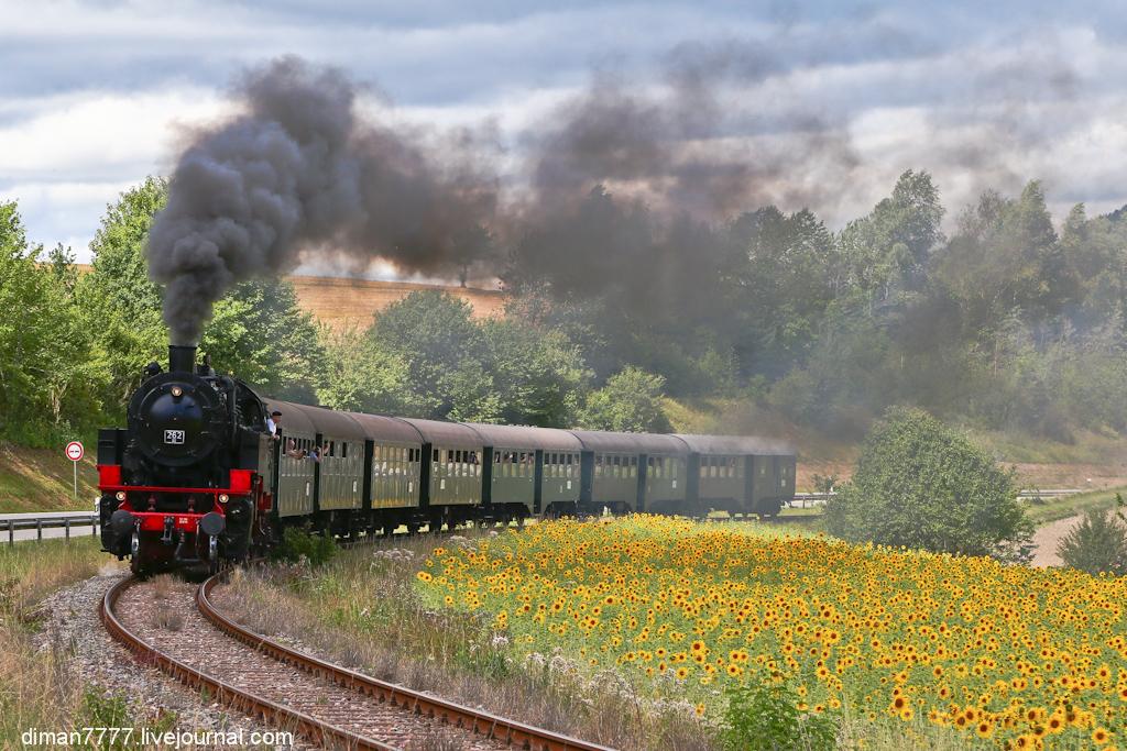 Историческая железная дорога Свинячий хвостик 09