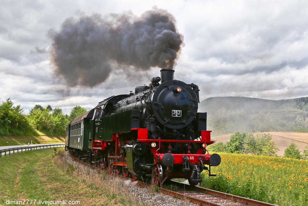 Историческая железная дорога Свинячий хвостик 10