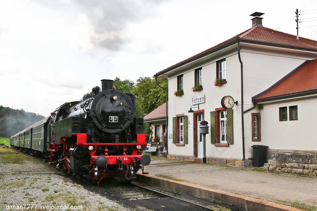 Историческая железная дорога Свинячий хвостик 11