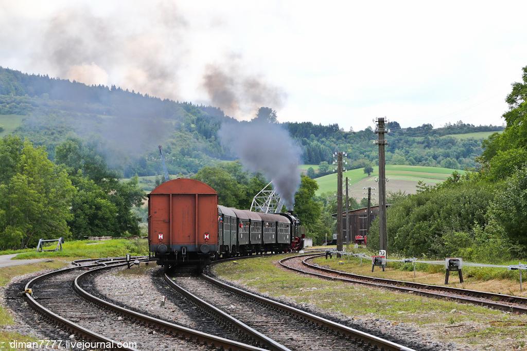 Историческая железная дорога Свинячий хвостик 12