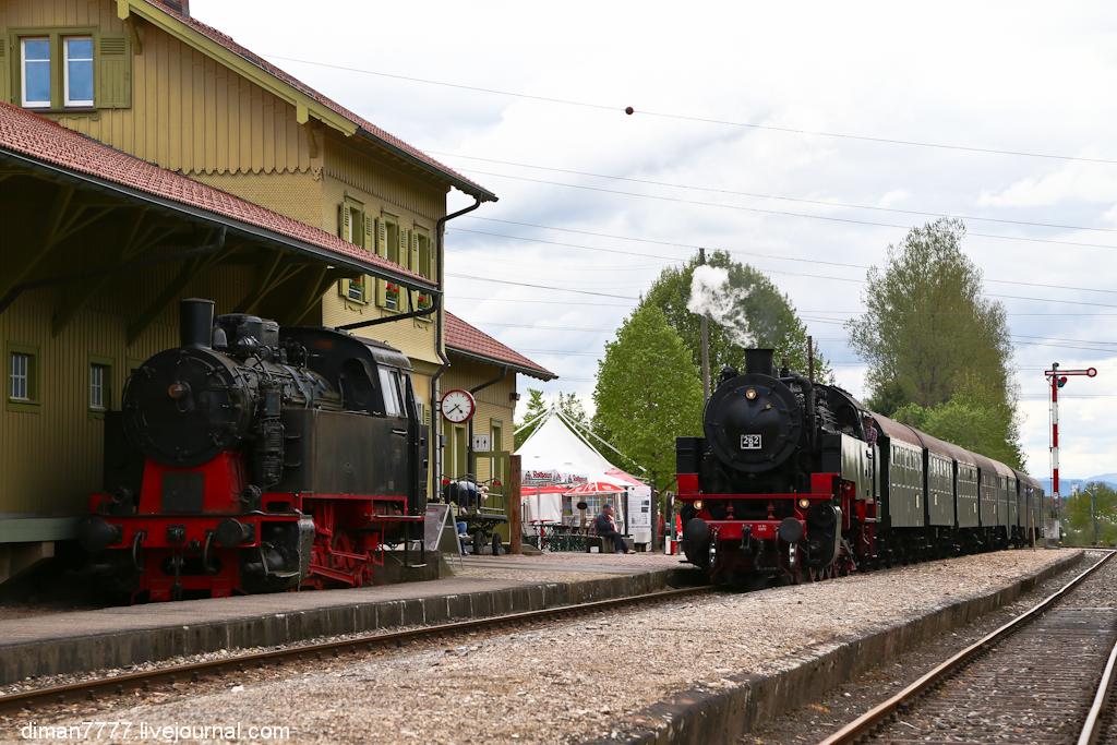 Историческая железная дорога Свинячий хвостик 13