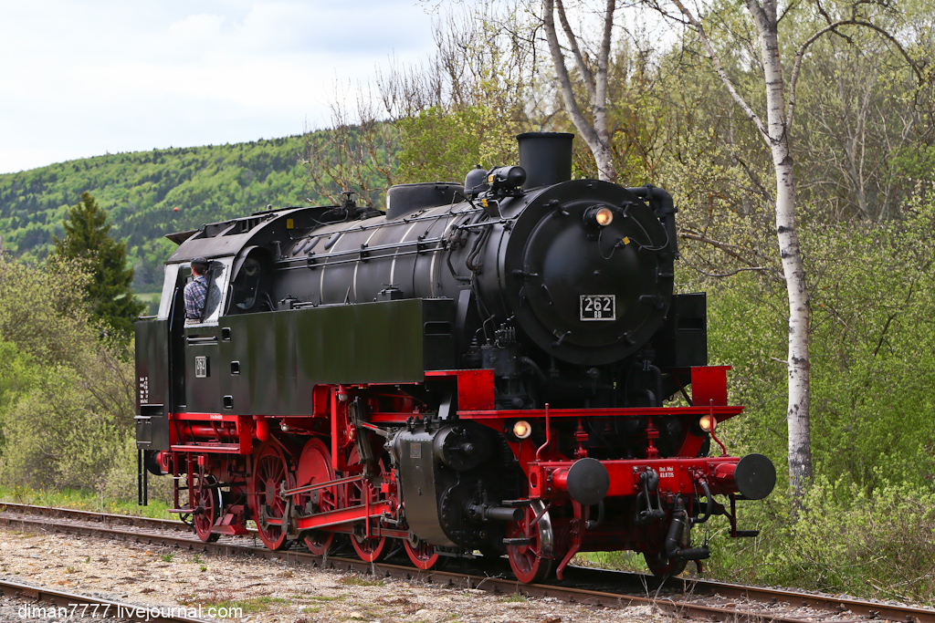 Историческая железная дорога Свинячий хвостик 14