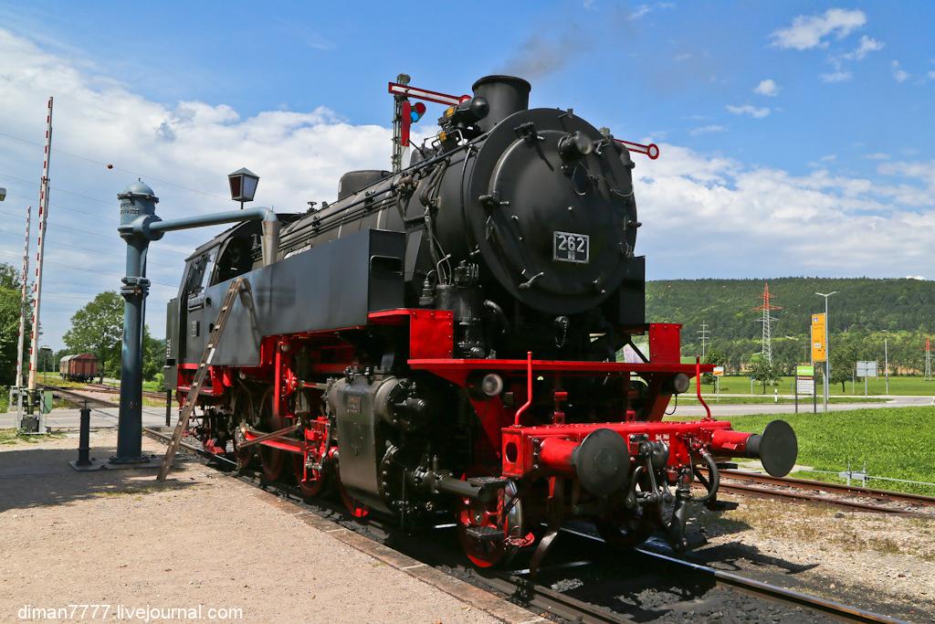 Историческая железная дорога Свинячий хвостик 15