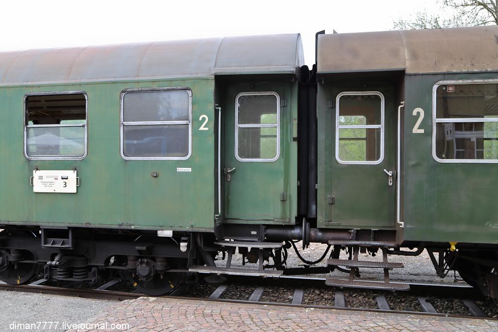 Историческая железная дорога Свинячий хвостик 16