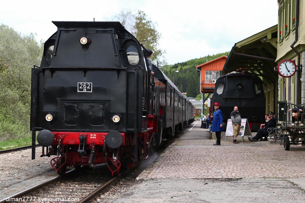 Историческая железная дорога Свинячий хвостик 18
