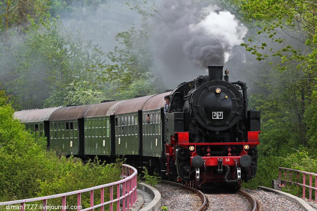 Историческая железная дорога Свинячий хвостик 19