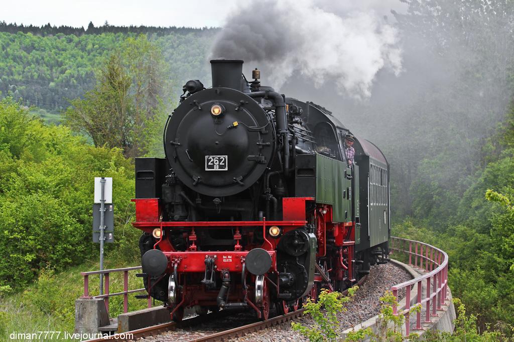 Историческая железная дорога Свинячий хвостик 20