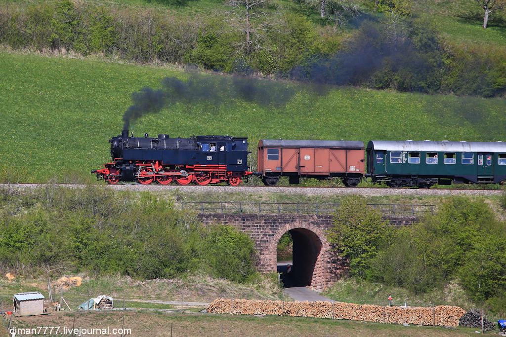 Историческая железная дорога Свинячий хвостик 22