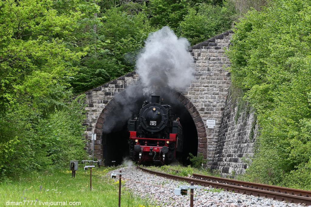 Историческая железная дорога Свинячий хвостик 24