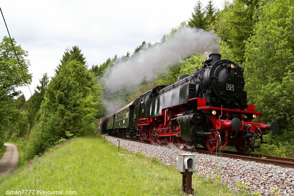 Историческая железная дорога Свинячий хвостик 25