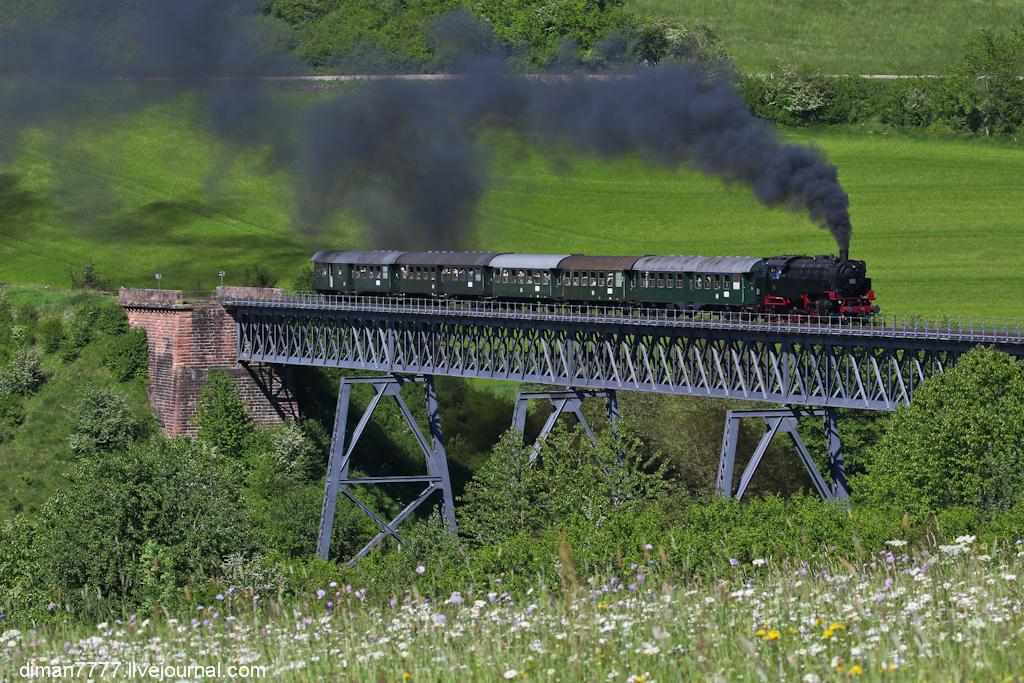 Историческая железная дорога Свинячий хвостик 26