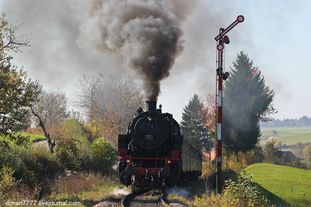 Историческая железная дорога Свинячий хвостик 27