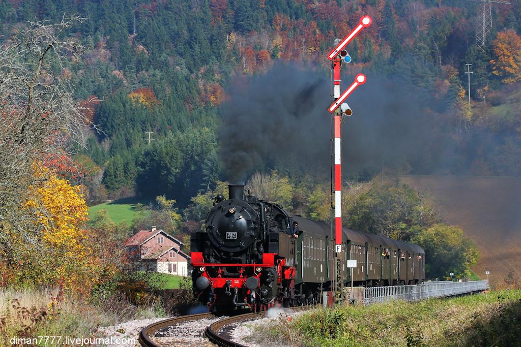 Историческая железная дорога Свинячий хвостик 28