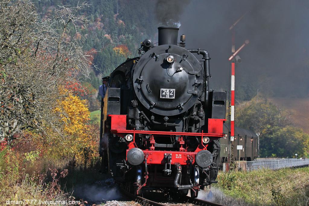 Историческая железная дорога Свинячий хвостик 29