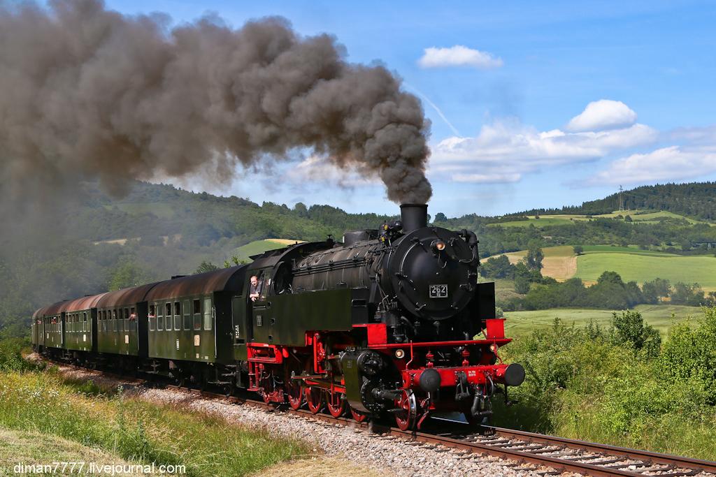Историческая железная дорога Свинячий хвостик 30