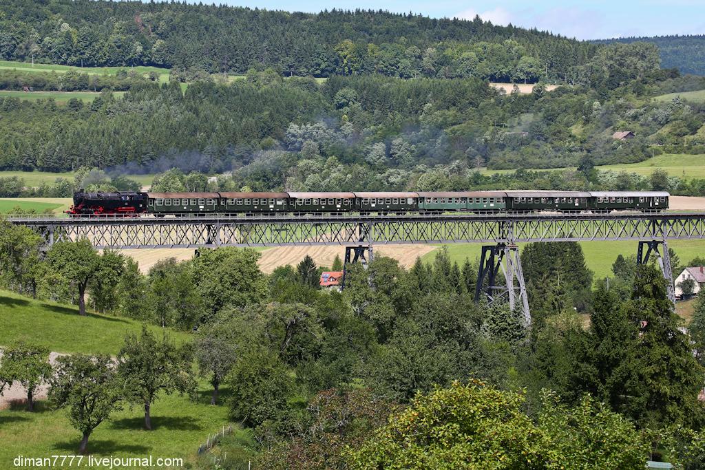 Историческая железная дорога Свинячий хвостик 31