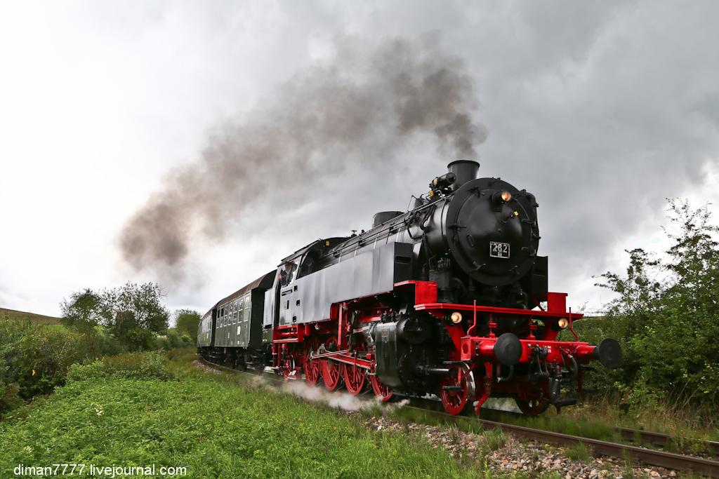 Историческая железная дорога Свинячий хвостик 32