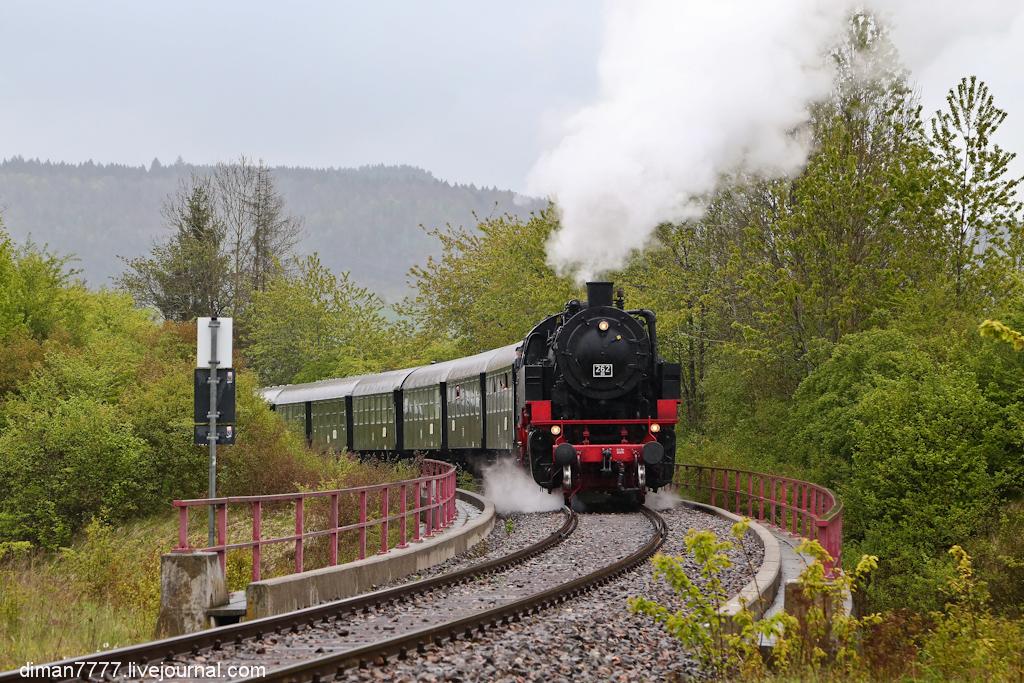 Историческая железная дорога Свинячий хвостик 33