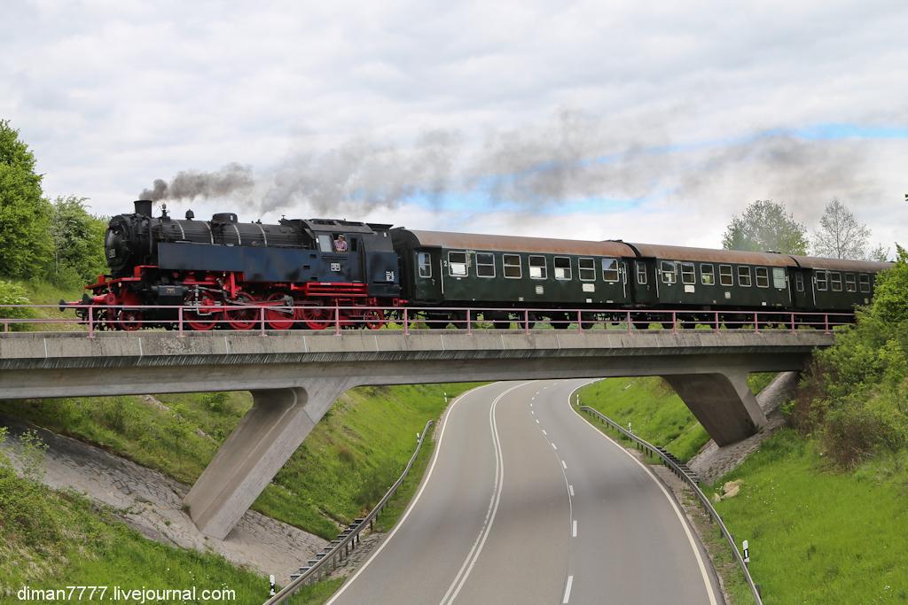 Историческая железная дорога Свинячий хвостик 34