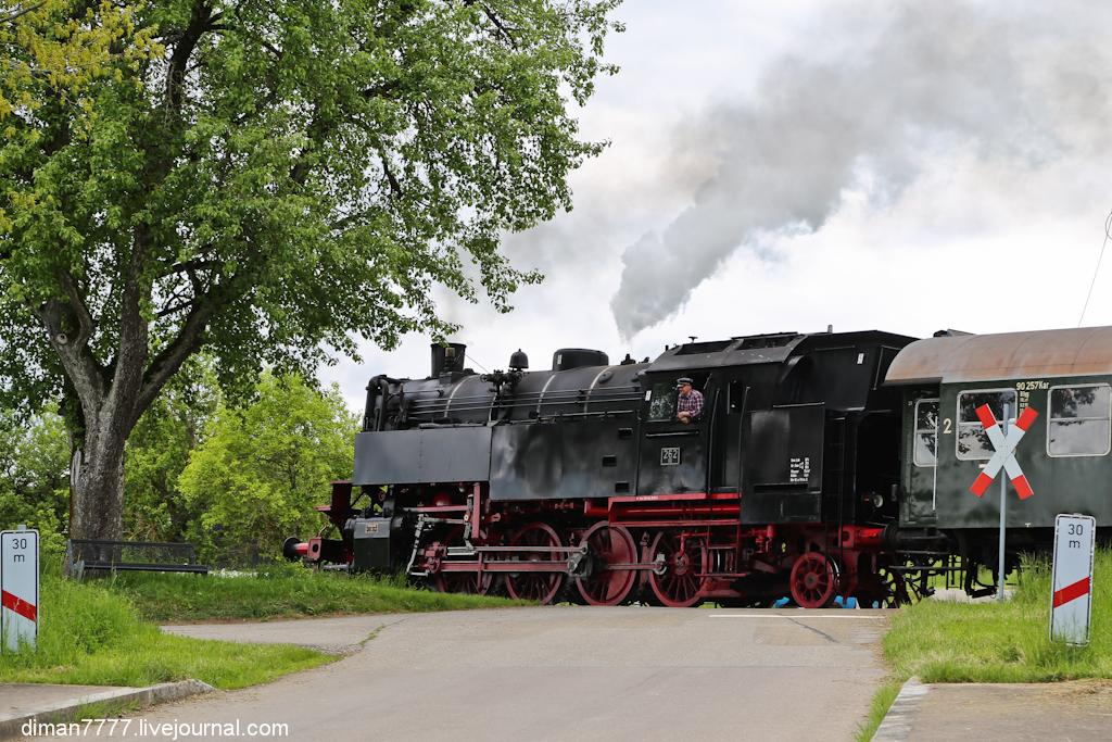Историческая железная дорога Свинячий хвостик 35