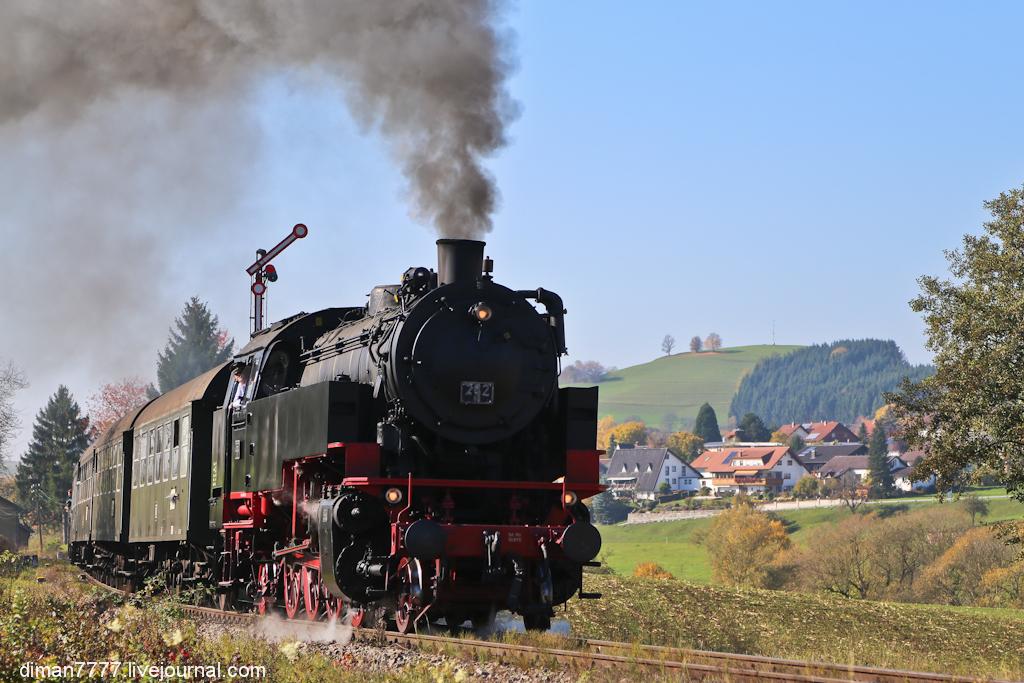 Историческая железная дорога Свинячий хвостик 36