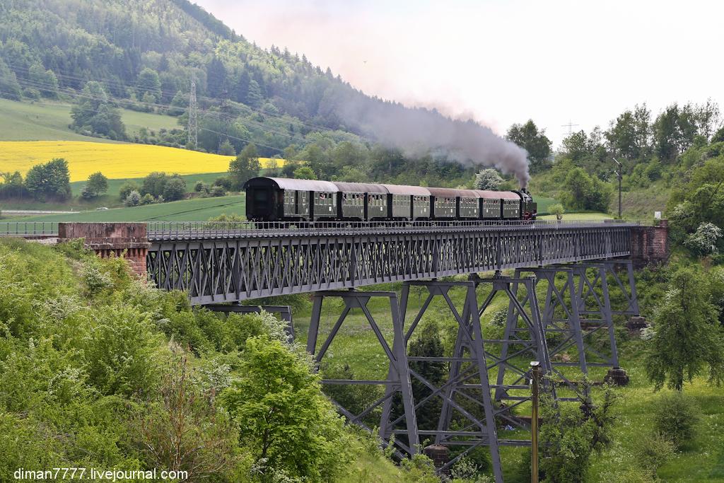 Историческая железная дорога Свинячий хвостик 37