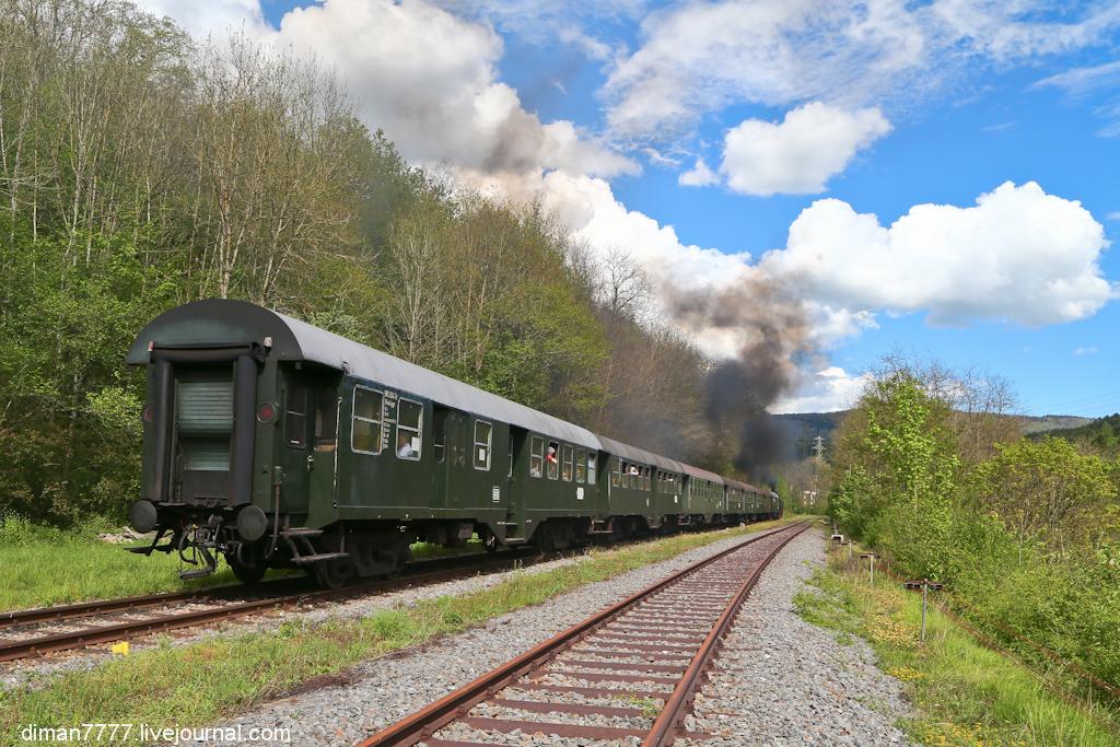 Историческая железная дорога Свинячий хвостик 38