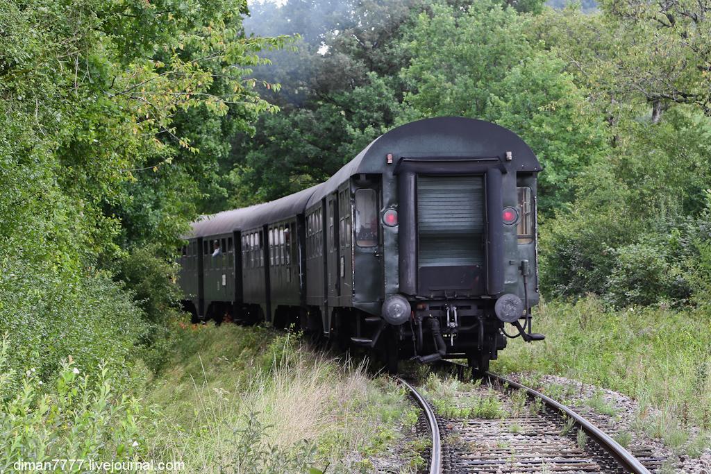 Историческая железная дорога Свинячий хвостик 39