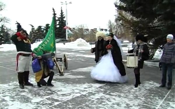 Ульяновская свадьба