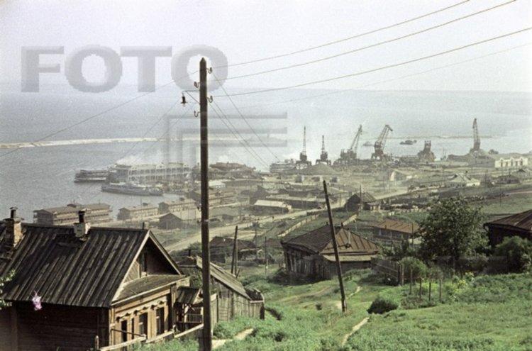 Цветной Ульяновск 1957-го