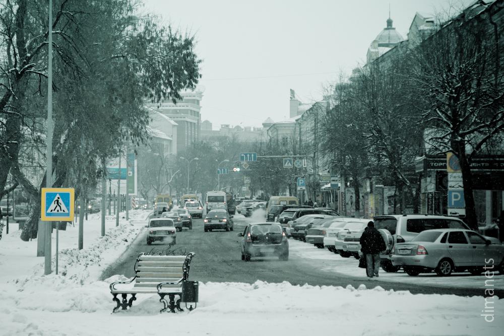 Зима. Ульяновск. Снег